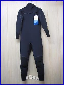 Patagonia Men's R3 FZ Hooded Full Suit Wetsuit Black (Size XLS)