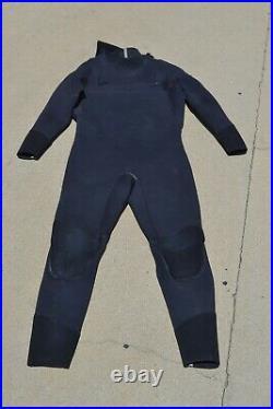Patagonia Mens Black Xls R2 Front Zip Full Suit Euc