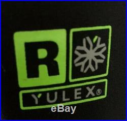 Patagonia Mens R2 Yulex Back Zip Full Suit Size Large Black