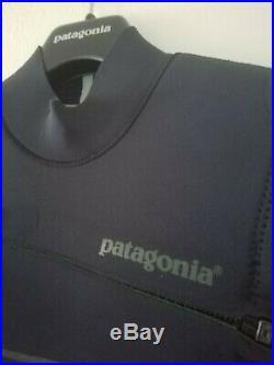 Patagonia R3 FZ Full Zip Suit 4.5/3.5MM Surf/Diving Wet Suit Black LS $489 NEW