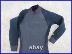 Patagonia R3 Full 3mm Wetsuit L LARGE MERINO WOOL BACK ZIP FULLSUIT COLD WATER