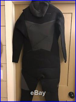 Quicksilver Mens Syncro 5/4/3 Chest Zip Series Full suit XXL NWT