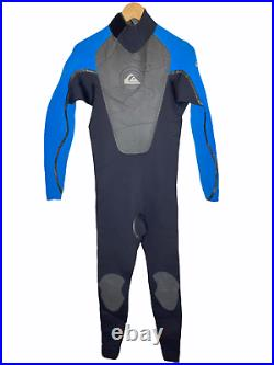 Quiksilver Mens Full Wetsuit Size LT (Large Tall) Cell 4/3 Excellent Condition