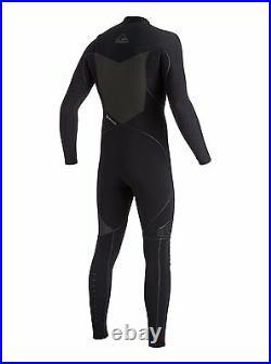 Quiksilver Mens S SM Highline 2X Bonded 3.5/3mm Chest Zip Full Wetsuit Chest Zip