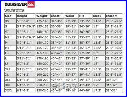 Quiksilver Originals Monochrome 2/2mm SS Full Wetsuit Men SZM