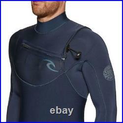 RIP CURL Mens Dawn Patrol 3/2 Full Length Wetsuit Surfing Watersports Blue