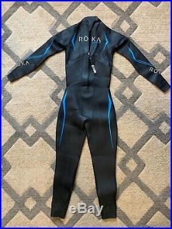 ROKA men's maverick comp tri full wetsuit size M/T