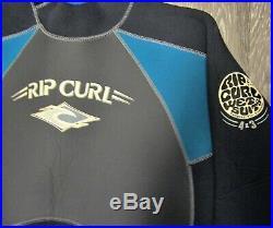 Rip Curl Classic Heat Seeker Men's 4/3 Sealed Full-Suit Wetsuit LS