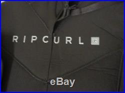 Rip Curl Men's Dawn Patrol 3/2mm Full Suit Back Zip Wetsuit Black 2XL XXL NWT