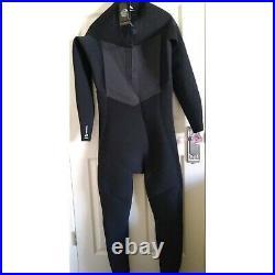 Rip Curl Men's Dawn Patrol 5/3 Back Zip Full Length Wetsuit XLT Surf Swim