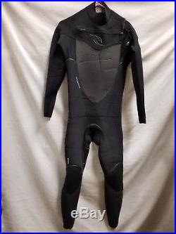 Rip Curl Men's Flashbomb 43 Chest Zip Full Wetsuit Size MT
