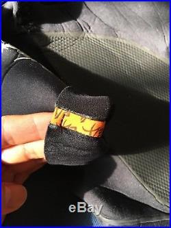 Rip Curl Men's Flashbomb BLACK 43 Chest Zip Full Wetsuit Size LS