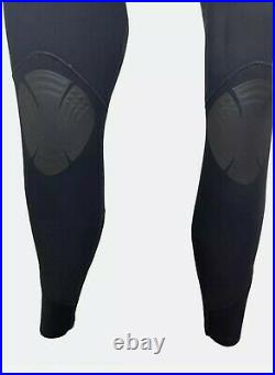 Rip Curl Mens Full Wetsuit Size Large E-Bomb 4/3 Sealed Chest Zip