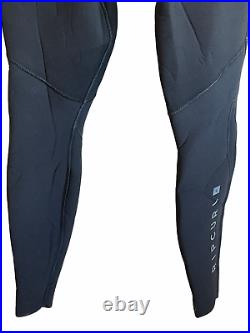 Rip Curl Mens Full Wetsuit Size XLT Dawn Patrol 3/2 Sealed Chest Zip Black
