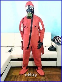 Russian Rescue marine Survival Neoprene suit gas mask FULL BODY wetsuit drysuit
