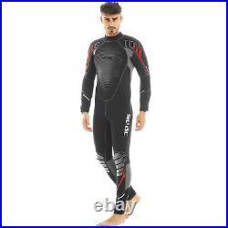 SEAC Komoda 7mm High Stretch Yamamoto Neoprene Full Wetsuit Mens