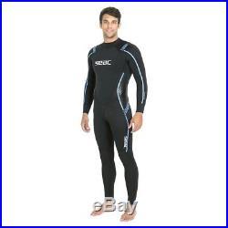 SEAC Libera 3.5mm High Stretch Yamamoto Neoprene Full Wetsuit Size Small