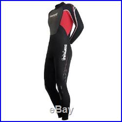 Sopras Sub Wetsuit Isida Men 3mm Red Scuba Diving Surfing Freediving Full Suit