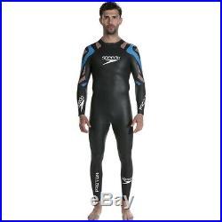 Speedo Male Fastskin Proton Triathlon Full Wetsuit, Black
