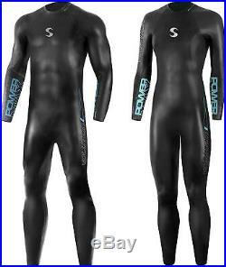 Synergy Triathlon Wetsuit 3/2mm Volution Full Sleeve Smoothskin Neoprene Mens M1