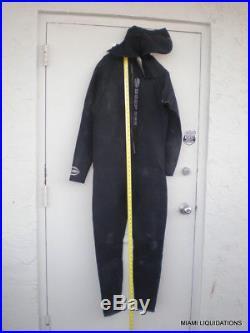 Tilos Platinum DEEP SEE 1968 Men's Super Stretch Hood Full Suit Wetsuit xxl 3 mm