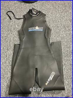 Training Iron Man Instinct Triathlon Full MEN Wetsuit MT MED tall Sleeveless
