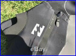 Used 1 time Billabong 3/2 Furnace Carbon X Chest-Zip Full Wetsuit Men's XL
