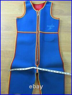 VINTAGE Retro Harveys Men's Full Wet Suit & Jacket M L 1970s 1980s