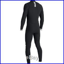 VISSLA Men's 2/2 SEVEN SEAS Chest-Zip Full Wetsuit -BWW Medium Short NWT