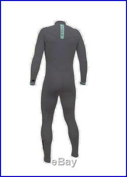 VISSLA Men's 2/2 SEVEN SEAS Chest-Zip Full Wetsuit DKG Small NWT