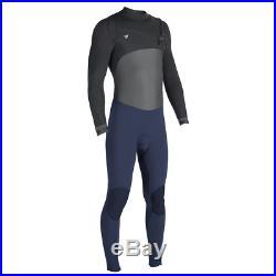 VISSLA Men's 3/2 SEVEN SEAS 50/50 CZ Full Wetsuit NVY Large NWT
