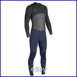 VISSLA Men's 3/2 SEVEN SEAS 50/50 CZ Full Wetsuit NVY Medium Short NWT