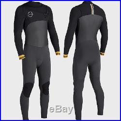 VISSLA Men's 3/2 SEVEN SEAS 50/50 Full Wetsuit DKG Size MS NWT