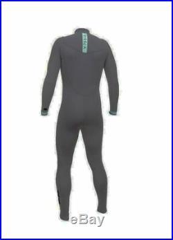 VISSLA Men's 3/2 SEVEN SEAS CZ Full Wetsuit DKG XL NWT