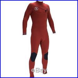 VISSLA Men's 3/2 SEVEN SEAS Chest-Zip Full Wetsuit BOO Large NWT