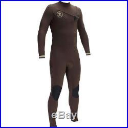 VISSLA Men's 3/2 SEVEN SEAS Chest-Zip Full Wetsuit DBR Size Large NWT
