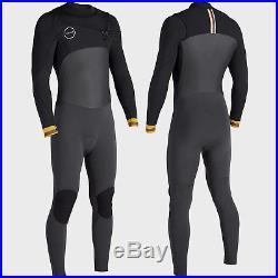 e5d49c99264 VISSLA Men's 4/3 SEVEN SEAS 50/50 Full Wetsuit DKG Size XLarge NWT