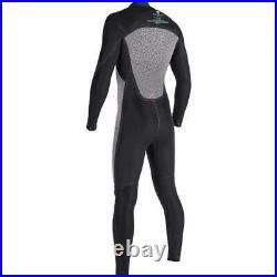 VISSLA Mens 7 Seas 5/4 Full Chest Zip Wetsuit Winter Suit Surf MEDIUM