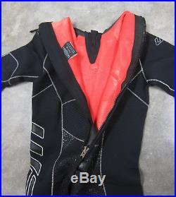 Water Proof Mens W3 3.5mm Back-Zip Full Wetsuit SCUBA / Snorkeling