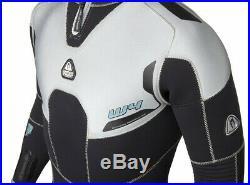 Waterproof W4 Men's 7mm Back Zip Full Wetsuit, various sizes