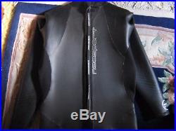 Wetsuit 5/3mm NeoSport Size 3X-Large Black Triathlon Sprint Full Suit Men