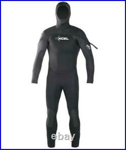 XCEL Polar Hydroflex Hooded 8/7/6mm Full Scuba Diving Wetsuit SIZE XLS
