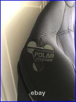 XCEL Polar Titanium Hooded 6/7/5mm Full Scuba Diving Wetsuit, Large FREE SHI