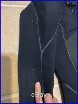 XCel Infinity DryLock Hooded 5/4 Full Wetsuit Size M Medium Celiant heat