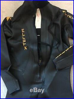 XTERRA Wetsuit VORTEX 4 Full Body Triathlon MEN'S X-LARGE Plus Bonus Gear Bag