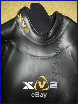 XTERRA XV2 VORTEX Black Swimming Warm TRIATHLON TRI WET SUIT Full Body LARGE