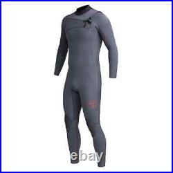Xcel Mens Comp-X TDC 3/2m Full Length Wetsuit Gunmetal Grey Xcel Mens Full