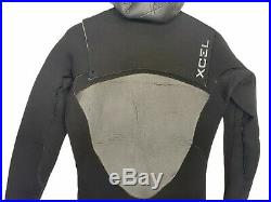 Xcel Mens Full Wetsuit Size LT Large Tall Hooded Drylock 5/4