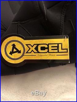 Xcel Mens Military Vortex Full Wetsuit 7/6/5MM Size Medium Black