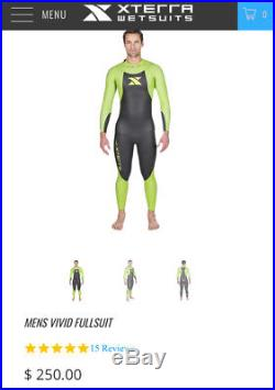 Xterra Large Vivid Full Wetsuit Mens